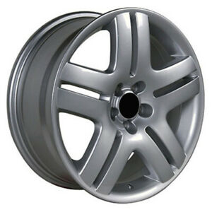 Silver Wheel 17x7 For 1991 2004 Chevy Cavalier Owh0377