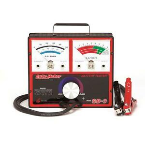 Autometer Sb 3 500 Amp Variable Load Battery electrical Tester