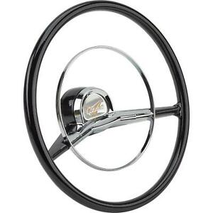 Speedway Motors Reproduction 2 spoke 1957 Chevy 15 Inch Steering Wheel