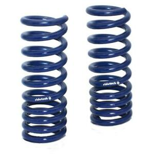 Ridetech 12102350 Front Dual Rate Coil Springs 67 70 Mustang S b