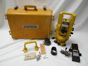 Topcon Gts 2b Total System Surveying Equipment Construction Tool With Case