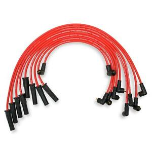Mallory 602 Pro Wire Chevy 366 454 8mm Socket Style Red