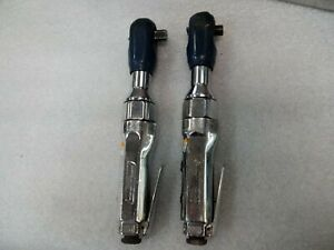 Blue Point Air Pneumatic Ratchet Wrench Set 3 8 1 2 At700e At705a Hand Tool