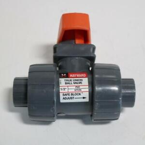 Hayward 1 2 Pvc Viton True Union Ball Valve