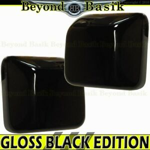 For 2018 2019 2020 Jeep Wrangler Jl Gloss Black Mirror Covers Overlays