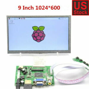 9inch 9 Tft Lcd Display Module Hdmi vga 2av Driver Board For Raspberry Pi New