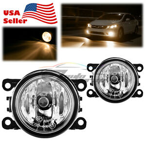 For 07 19 Mitsubishi Outlander Fog Light Clear Lens Oem Quality Replacement F1