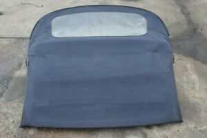 97 02 986 Porsche Boxster Convertible Roof Soft Top Assembly Charcoal