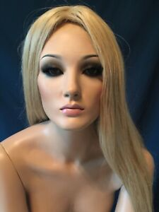 Adel Rootstein Female Mannequin Hardcap Wig Only
