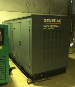 Generac 150 Kw Natural Gas Generator W 90 Hours 2015
