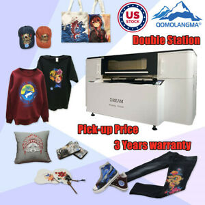 Usa Stock Double Station Direct To Garment Printer Dtg T shirt Printing Machine