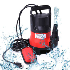 Water Pump Submersible 1 2 Hp 2000gph Clean Clear Dirty Pool Pond Flood Draining