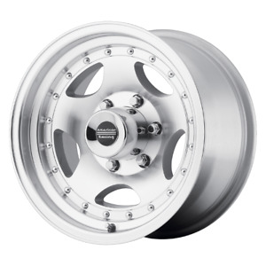 4 Wheels American Racing Ar23 Machined 16x8 Ford F250 Rims 8x170 0 Offset