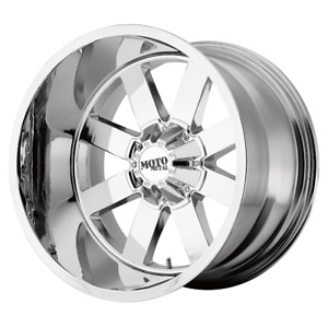 4 Wheels Moto Metal Mo962 Chrome 18x9 Chevy Gm Hd Rims 8x180 0 Offset