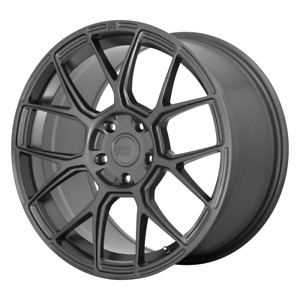 4 Wheels Motegi Cm7 Gunmetal 17x8 Rims 5x120 38 Offset