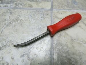 Snap On Tools Spb8a Pry Bar 8 Rare Red Hard Handle