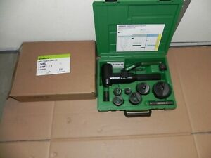 Greenlee 7906sb Quick Draw 90 Hydraulic Punch Driver Kit 1 2 2 Conduit Nice