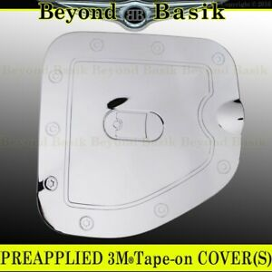 For 2005 2015 Toyota Tacoma Short Bed Chrome Gas Fuel Door Cover Overlay