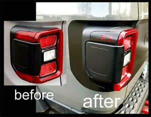 Tail Light Side Marker Blackout Fits Jeep Gladiator Led W O Collision Detection