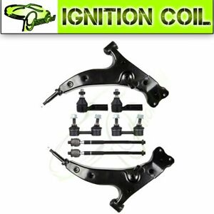For 1993 1995 Toyota Corolla Suspension Kit Set Of 8 Front Control Arm Tie Rod