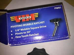 Vim Tools Pwr1 1 4 Square Drive Palm Wobble Ratchet