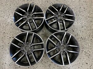 2017 2020 Jeep Grand Cherokee Trailhawk 18 Wheels Gray Polished Face Oem Tpms