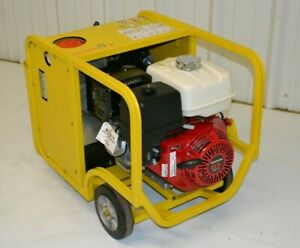 Packer Brothers Hydraulic Power Pack Honda Gx390 8 Gpm 3000 Psi Portable