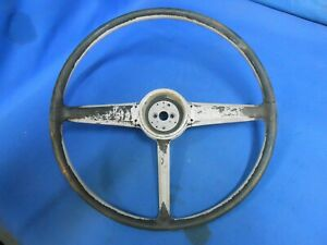 1949 1950 1951 1952 Plymouth Steering Wheel 1325169 Cover 1326751 H Rat Rod