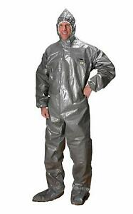 Chemmax 3 Chemical Bio hazard Coveralls Type 3 Hood boot Personal Protection