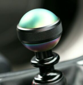 Ssco Neo Chrome Knurled Sr M 55mm 440 Grams Weighted Shift Knob Shifter Sphere