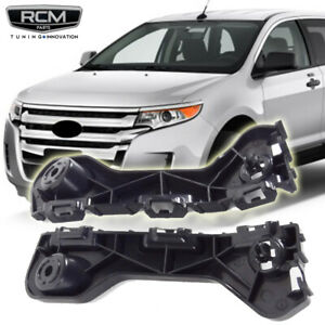Fit For 2011 2014 Ford Edge Front Bumper Brackets Support Pair Set