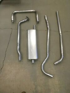 1949 1950 Ford Custom Deluxe V8 Hardtop Complete Single Exhaust System