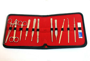 Dissecting Instruments Kit Anatomy Set Medical Surgical Supplies Lab Equipment