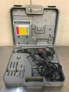 Senco Dura Spin Collated Screw Fastening System Ds200 ac With Case Drywall Gun