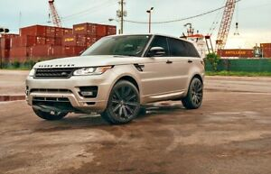 22 Vanguard Wheels Rims For Range Rover Sport Hse Supercharged Autobiography