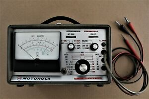 Motorola Dc Multimeter S1063a in Good Working Conditon Missing Power Cable