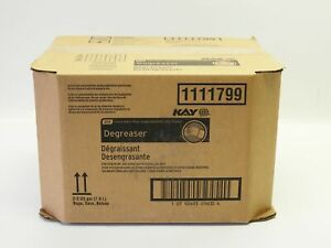 New Ecolab Kay Degreaser Qsr 1111799 Industrial Heavy Duty 2x 2gallon Bags