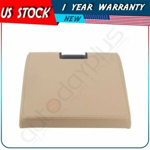 For Chevy Silverado Gmc Sierra 2007 2014 Beige Center Console Lid Armrest Cover