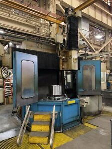 Giddings Lewis 48 Cnc Vertical Boring Mill B40586