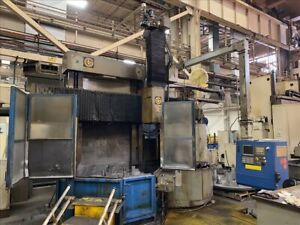 Giddings Lewis 48 Cnc Vertical Boring Mill B40587