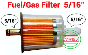 10 5 16 Gas Fuel Filter Industrial High Performance Universal Inline L4