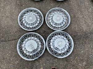 1970 s 80 s Cadillac Wire Wheel Hubcaps