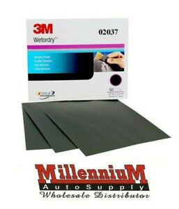 3m 02037 Imperial Wet Or Dry 500 Grit Sand Paper 2037