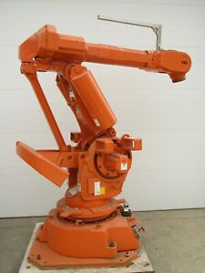 Abb Irb6400 M97 2 4 150 Industrial Robotic Arm Manipulator Working Used