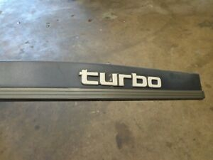 Toyota Supra Mk3 1989 Drivers Rear Trim Turbo Light Blue 75654 14210 Oem