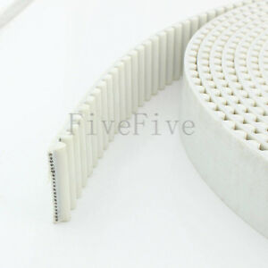 10 100pcs Htd8m Pu Open Timing Belt 10 50mm Wide 8mm Pitch For Cnc Step Motor