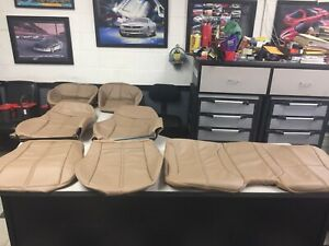 1996 Chevy Camaro Neutral Tan Front And Rear Seat Covers New