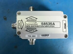 Symmetricom 58535a Gps Distribution Amplifier Splitter bulkdiscount