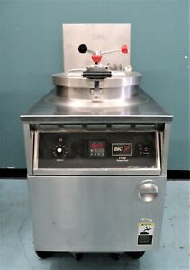 Bki 75 Lb Pressure Fryer With Filtration System Electric Fkm f