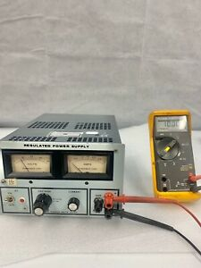 Power mate Corp Regulated Power Supply rb b1